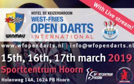 West Fries Open Darts 2019